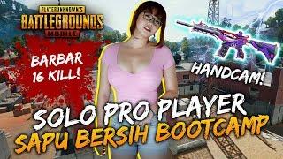 CEWEK PRO PLAYER PUBGM SAPU BERSIH BOOTCAMP! - PUBG Mobile Indonesia