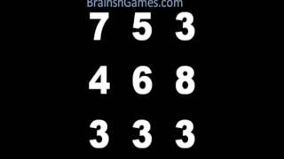 Math Brain Game - Take on the Number Box!