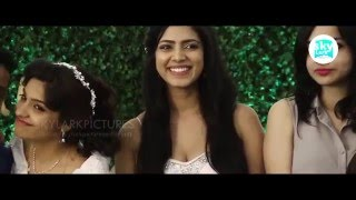 Archana Kavi Wedding Video   Rima Kallingal   Malavika Mohanan At Kochi