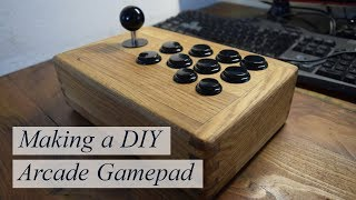 How to build a DIY Arcade Gamepad! Easy project!