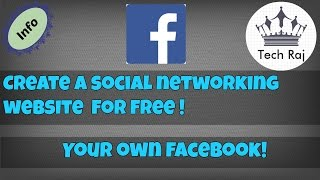 How to Create a Social Networking Website like Facebook for FREE [EASY]