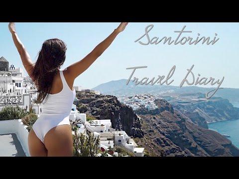 Santorini Travel Diary, A Must Go Destination!!   Simeon Panda   Chanel Coco Brown