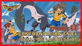 Inazuma Eleven Go Chrono Stones - Episodio 33 español «¡Confrontación en el Valle de las Bestias»