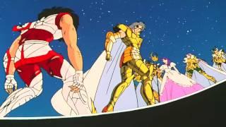 Los caballeros del zodiaco seiya vs saga  hd 1080p
