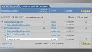 How to Transfer a Domain from Register.com
