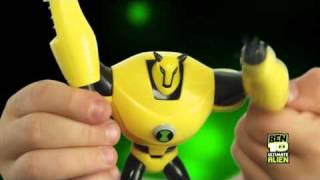 Ben 10 Ultimate Alien figurki 10cm+Ultimatrix Dyski Obcych