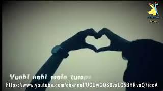 Itni si baat hai mujhe tumse pyar hai   whatsapp status  video Lyrics 1