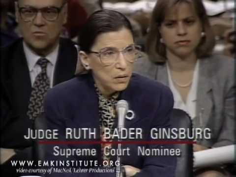 Xxx Mp4 Ruth Bader Ginsburg Supreme Court Nomination Hearings From PBS NewsHour And EMK Institute 3gp Sex