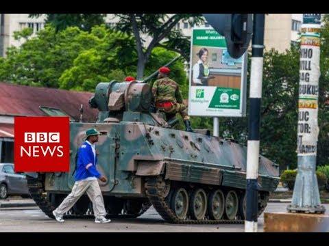 Zimbabwe army takeover Latest Updates BBC News