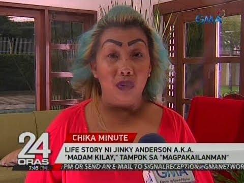 Xxx Mp4 24 Oras Life Story Ni Jinky Anderson A K A Madam Kilay Tampok Sa Magpakailanman 3gp Sex