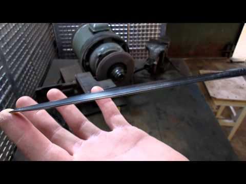 Закалка ножа из подшипника в домашних условиях