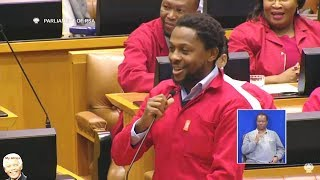 FUNNY - Dr Ndlozi Being Very Nice In Parliament