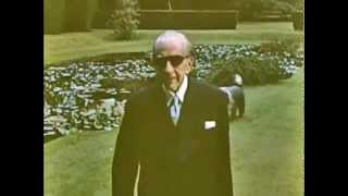J. Paul Getty with Dogs