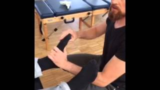 Chiropractic - Cyclist with Foot Problems