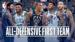 2018-19 NBA All-Defensive First Team Season Highlights Compilation