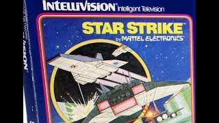 Classic Game Room - STAR STRIKE review for Intellivision