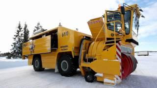 World's largest snow blower HD