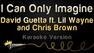 David Guetta ft. Chris Brown and Lil Wayne - I Can Only Imagine (Karaoke Version)