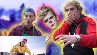 "REACTING TO JAKE PAUL'S ""EVERYDAY BRO REMIX!"""