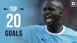 YAYA TOURÉ ★ Top 20 Goals Ever • HD