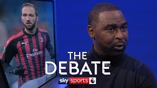 Is Higuain the perfect fit for Chelsea?   Tim Sherwood & Andy Cole   The Debate