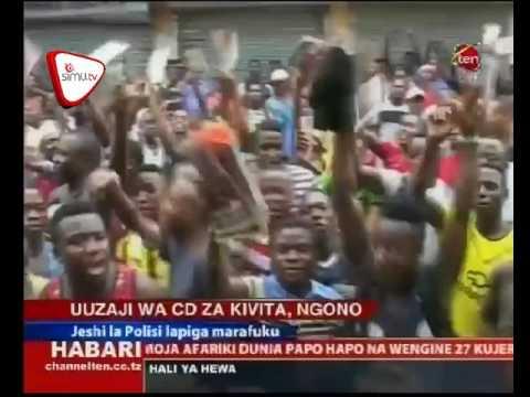 Polisi Yapiga Marufuku CD za Ngono na Vita