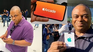 Apple invited ME to their iPhone 11 Event! [Apple Arcade Preview]   Lamarr Wilson