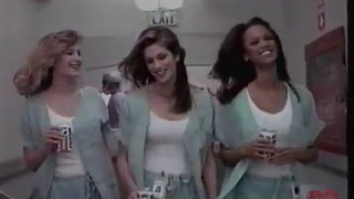 Pepsi | Television Commercial | 1997 | Cindy Crawford Tara Banks