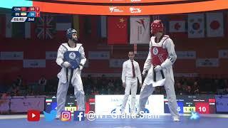 Final 「Team Male」IRI vs. CHN | 2017-18 SEASON WT WORLD CUP TEAM CHAMPIONSHIPS