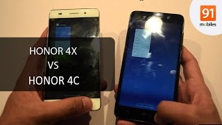 Honor 4X vs Honor 4C: Review
