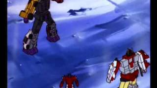 Menasor defeating Superion, when suddenly...