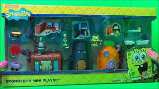 NICKELODEON SPONGEBOB MINI PLAYSET BY SIMBA TOY UK UNBOXING