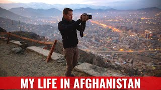 In the streets of Kabul - A tour through the city HD
