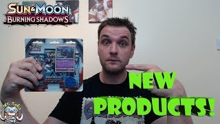Brand New Pokémon Products Opening! Burning Shadows!
