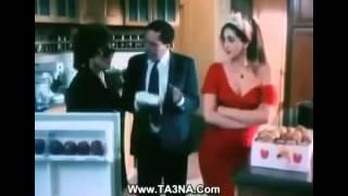 سكس نبك . الفنانه وفاء عامر مع عادل امام