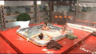 Big Brother Canada 3 Bobby in the Hot Tub