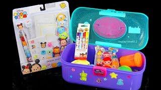KIDS ART SET | Disney Tsum Tsum Deluxe Journal Creative Activity for Kids | itsplaytime612