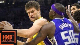 Los Angeles Lakers vs Sacramento Kings 1st Half Highlights / Feb 24 / 2017-18 NBA Season