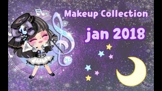 LINE Play - My Makeup Collection (January 2018)