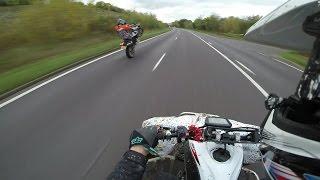 82 - Supermoto + Yamaha Yfz450R + Raptor 700R Quad Bike Country Trails London England