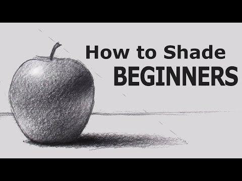 Xxx Mp4 How To Shade With PENCIL For BEGINNERS 3gp Sex
