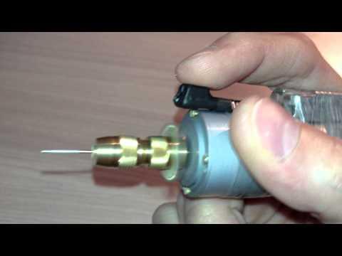 Как сделать из моторчика от шуруповерта