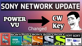 Sony Network Key Changed to CW