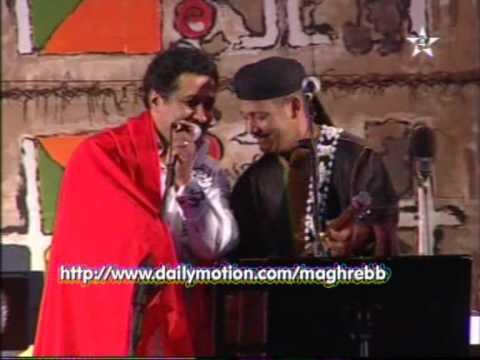 mâalem Hamid El kasri et Khaled Gnawa Morocco
