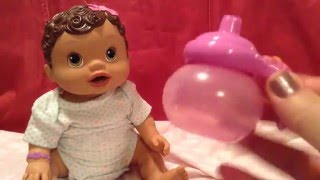 Kids Toys-baby alive changing time baby doll's real milk bottle