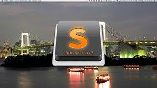 Tutoriel SublimeText 3 : Presentation Sublime Text 3.