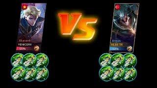 Argus full damage vs Alucard full damage max attack | Mobile Legends