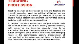 Present Indian Education System