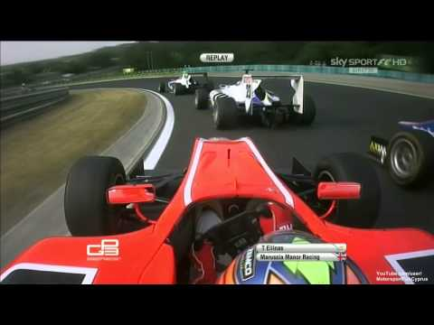 GP3 Series 2013 - Budapest Hungary - Race 1 - Part 3/3