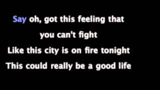 One Republic-Good Life (Karaoke, Instrumental with lyrics HD)